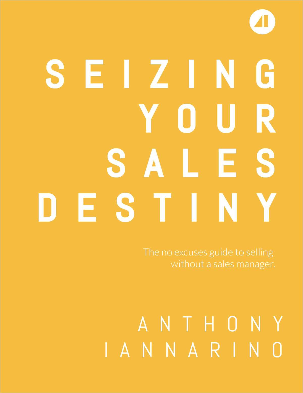 Seizing Your Sales Destiny