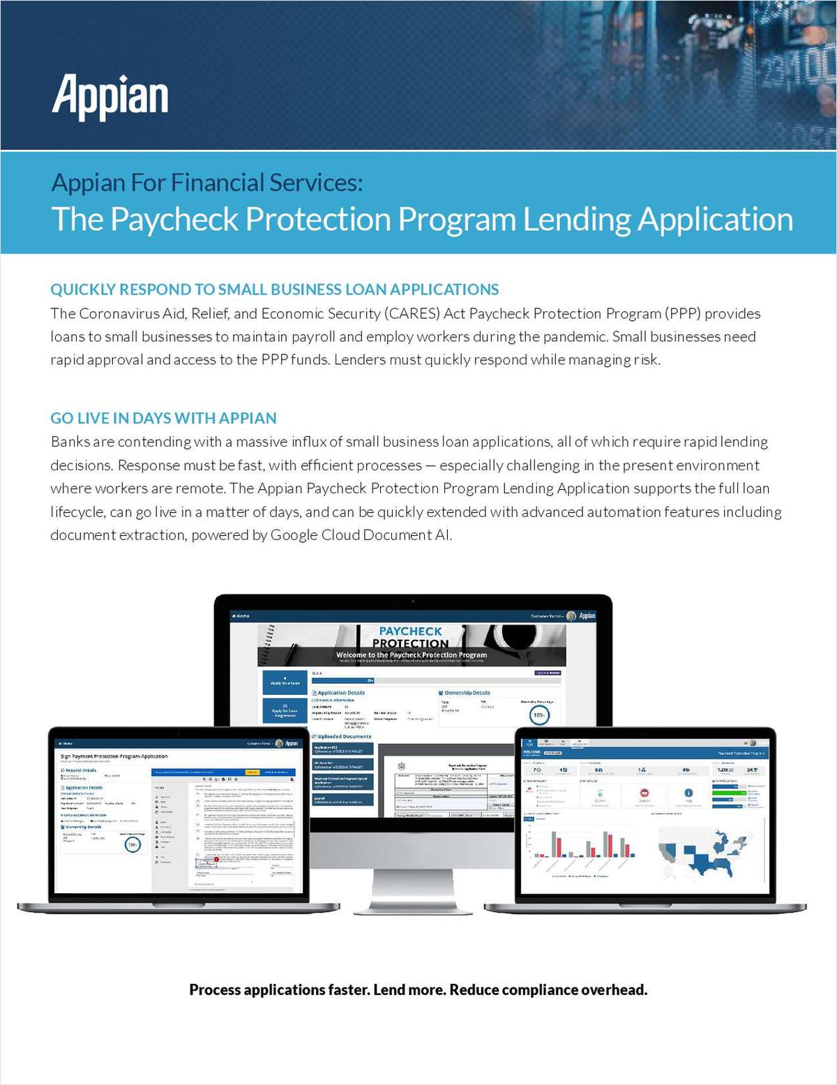 Appian For Financial Services: The Paycheck Protection Program Lending Application
