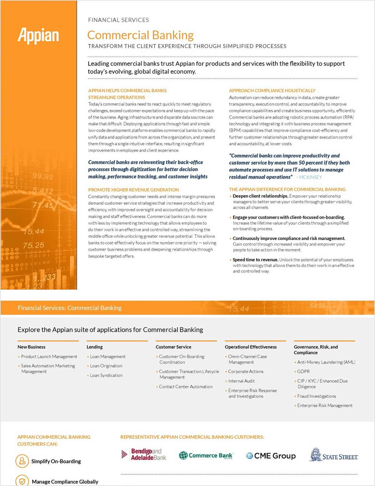 Appian for Commercial Banking