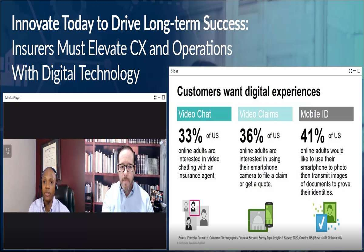 Innovate Today to Drive Long-term Success: Insurers Must Elevate CX and Operations With Digital Technology