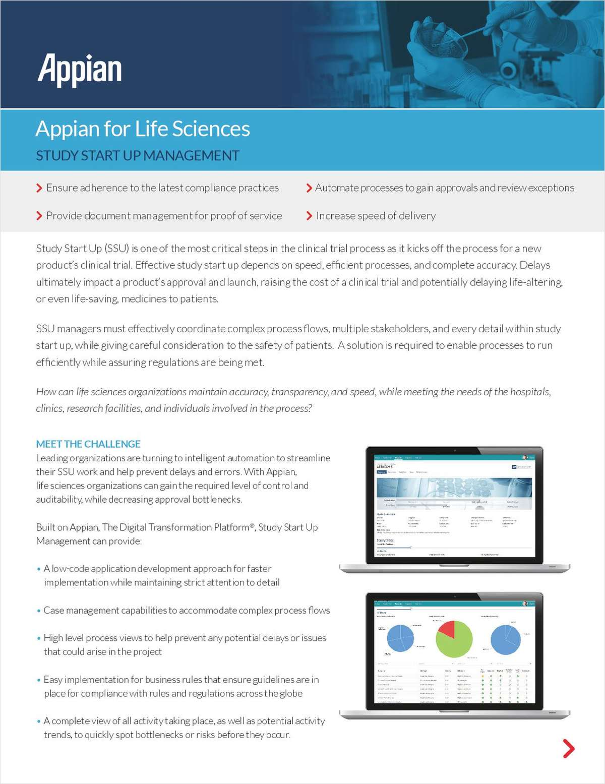 Appian for Life Sciences: Study Start Up