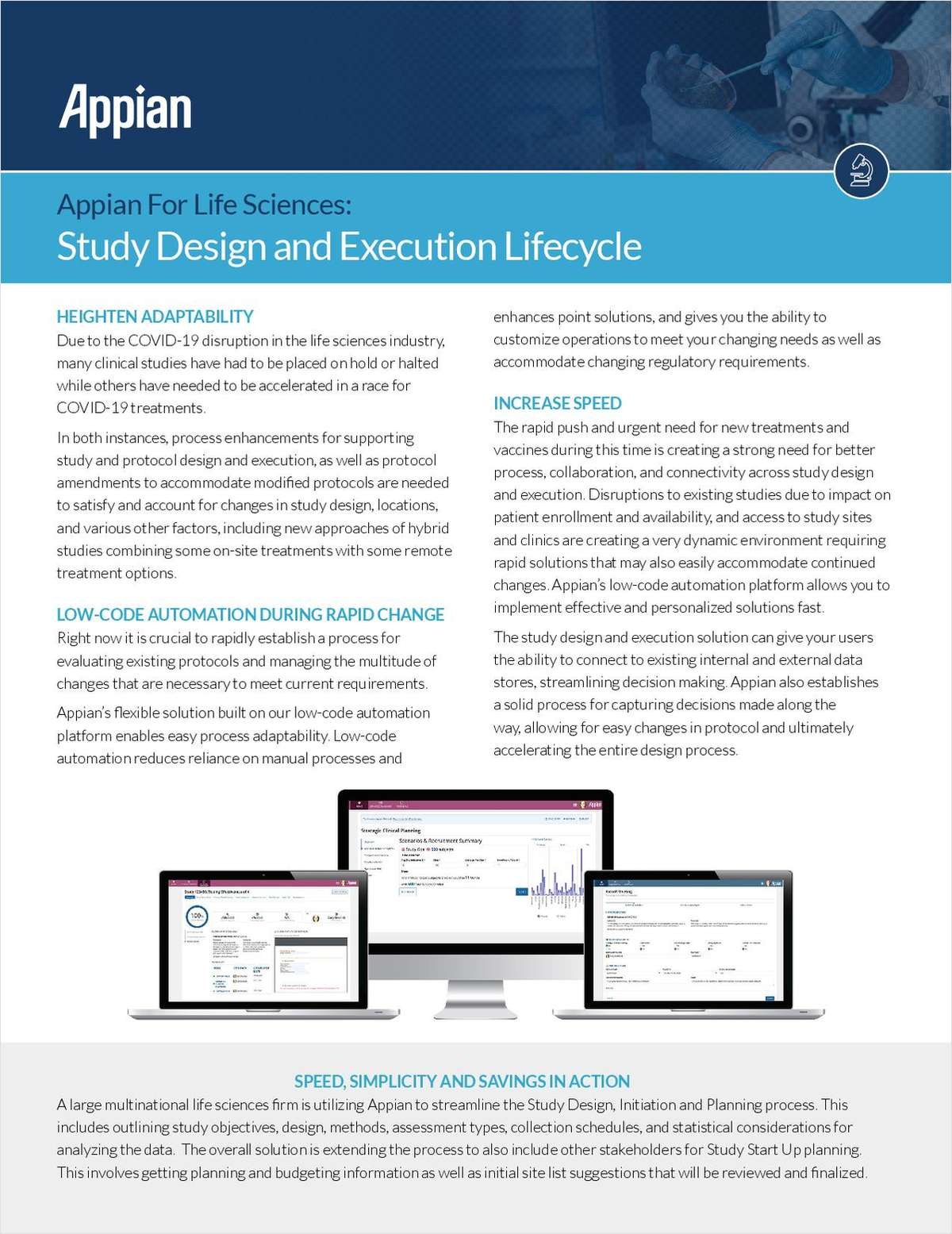 Appian for Life Sciences: Study Design and Execution Lifecycle