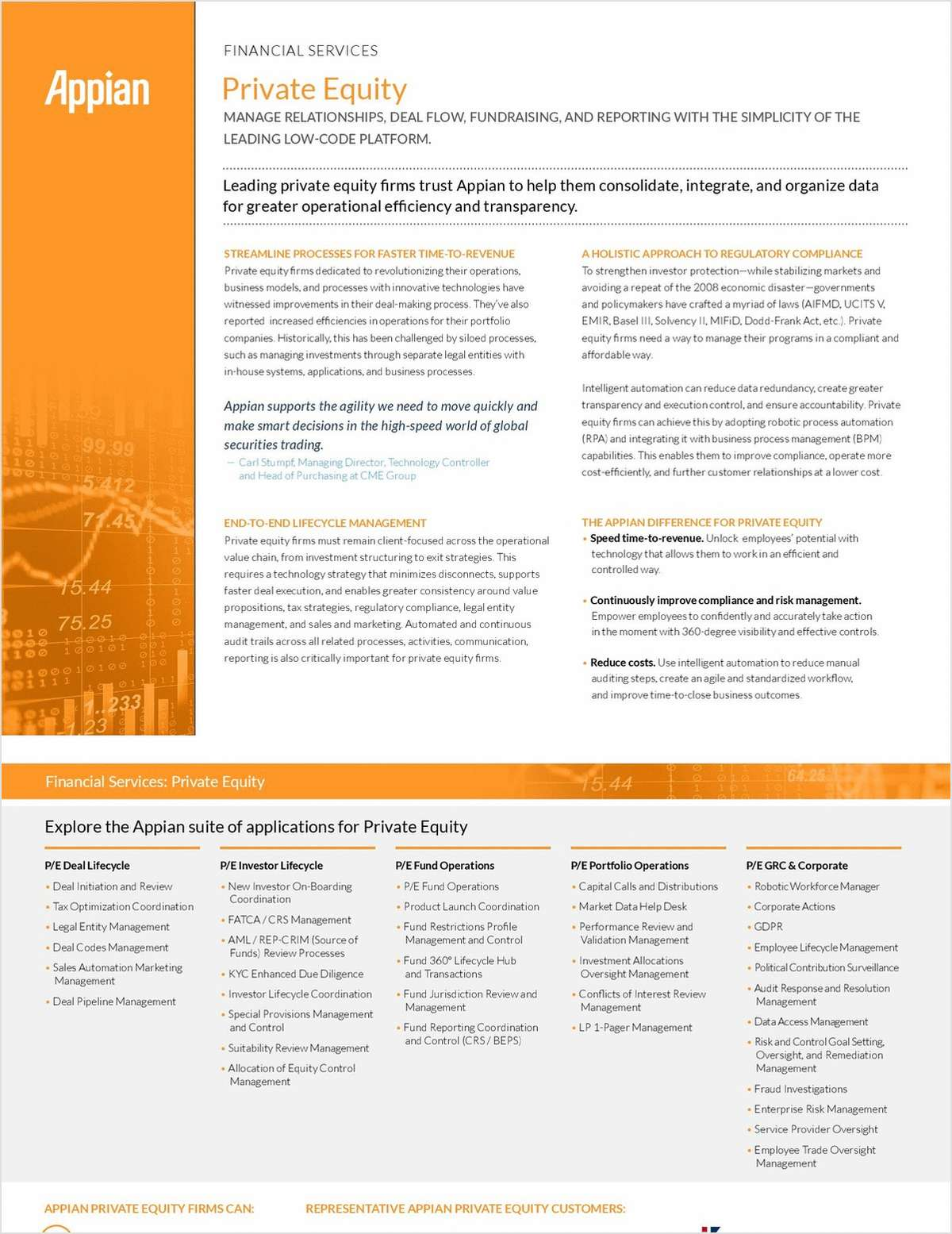 Appian for Private Equity