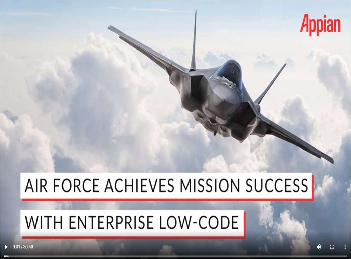 Air Force Achieves Mission Success with Enterprise Low-Code