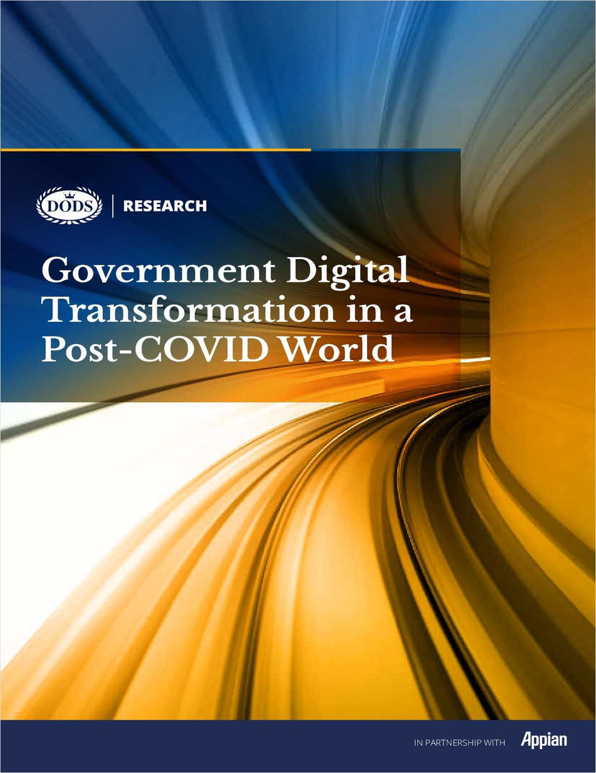 Dods Research: Government Digital Transformation in a Post-COVID World