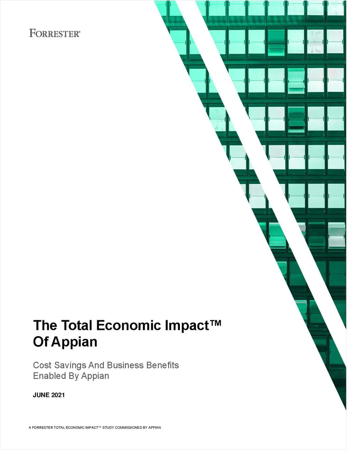 Total Economic Impact of Appian (TEI Report by Forrester)