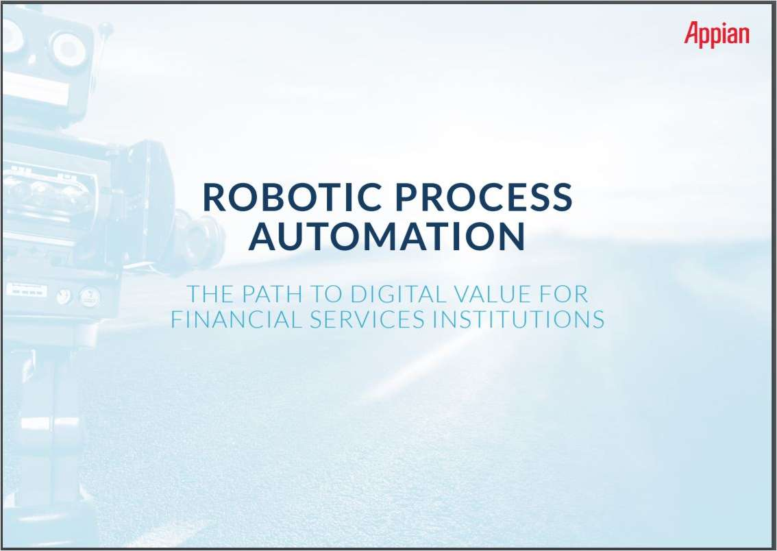 Robotic Process Automation and the Transformation Continuum