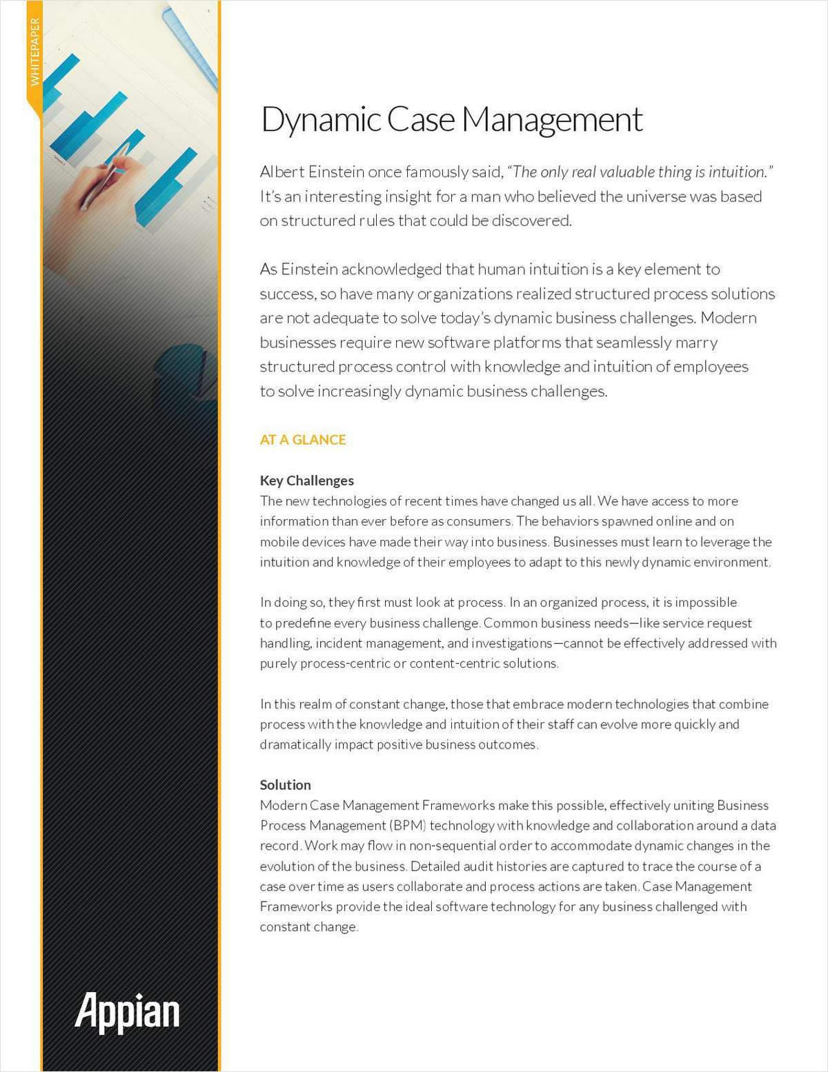 Dynamic Case Management
