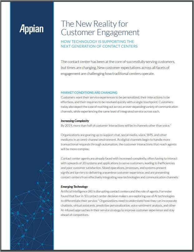 The New Reality for Customer Engagement