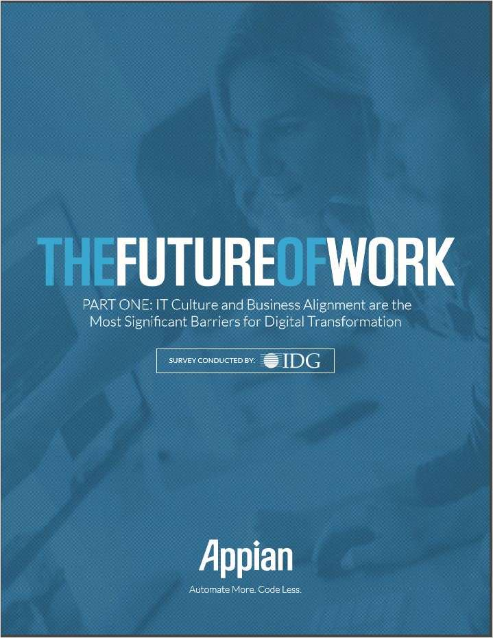 The Future of Work: Survey Part #1
