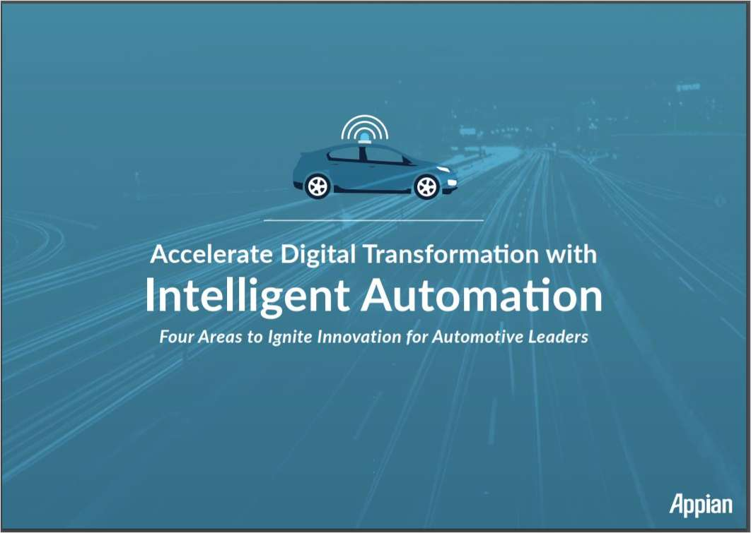 Accelerate Digital Transformation with Intelligent Automation