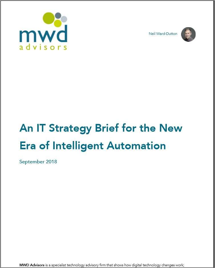 An IT Strategy Brief for the New Era of Intelligent Automation