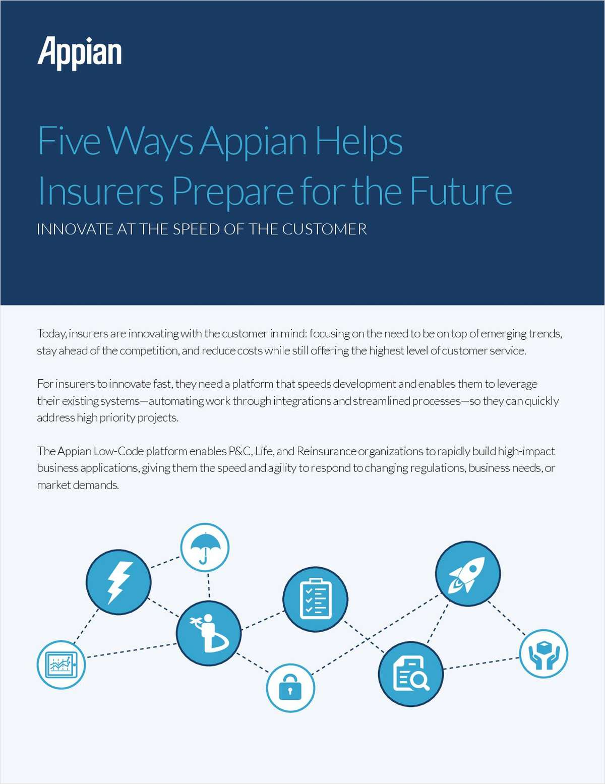 Five Ways Appian Helps Insurers Prepare for the Future