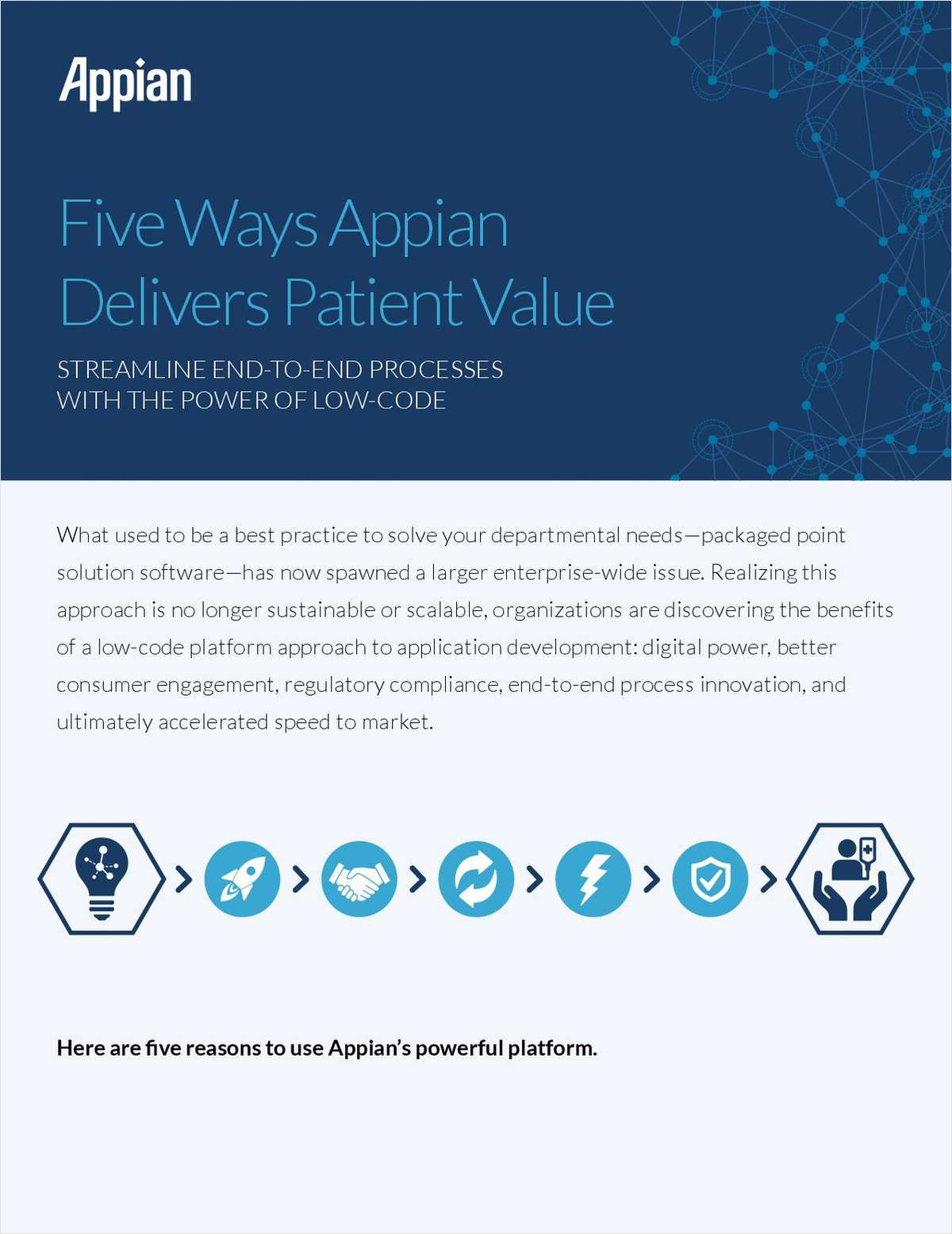 Five Ways Appian Delivers Patient Value