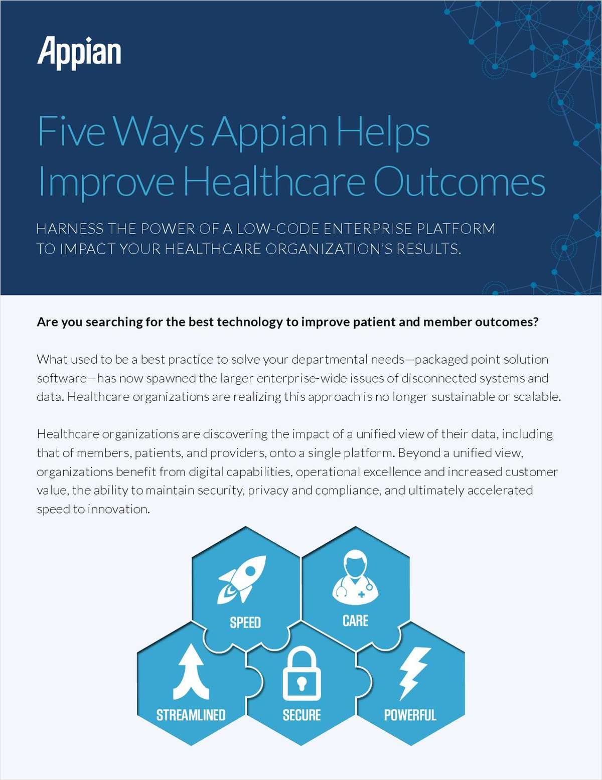 Five Ways Appian Helps Improve Healthcare Outcomes
