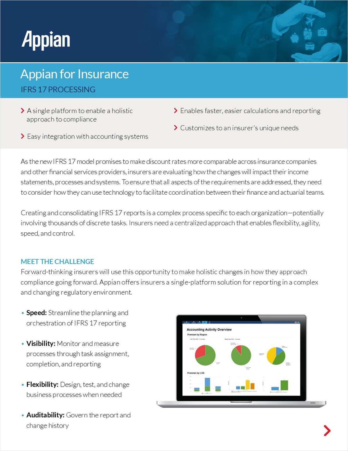Appian for Insurance: IFRS 17 Processing