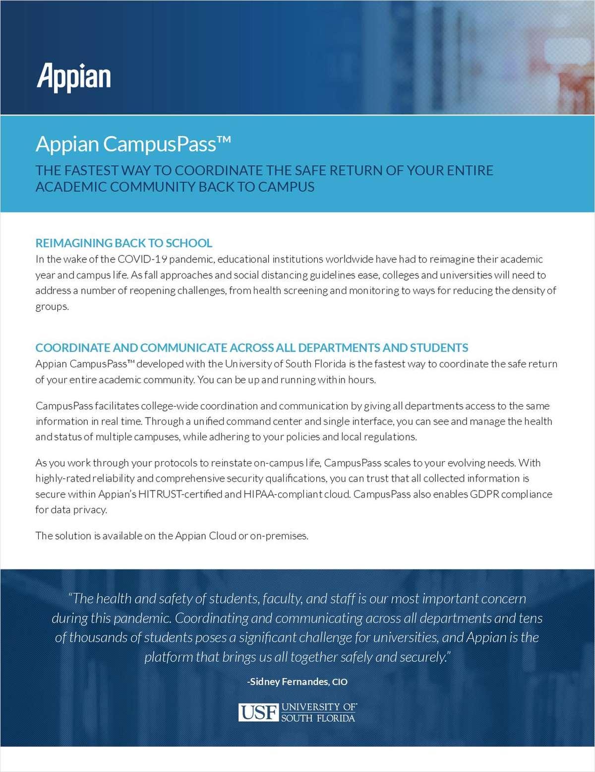 Appian CampusPass™