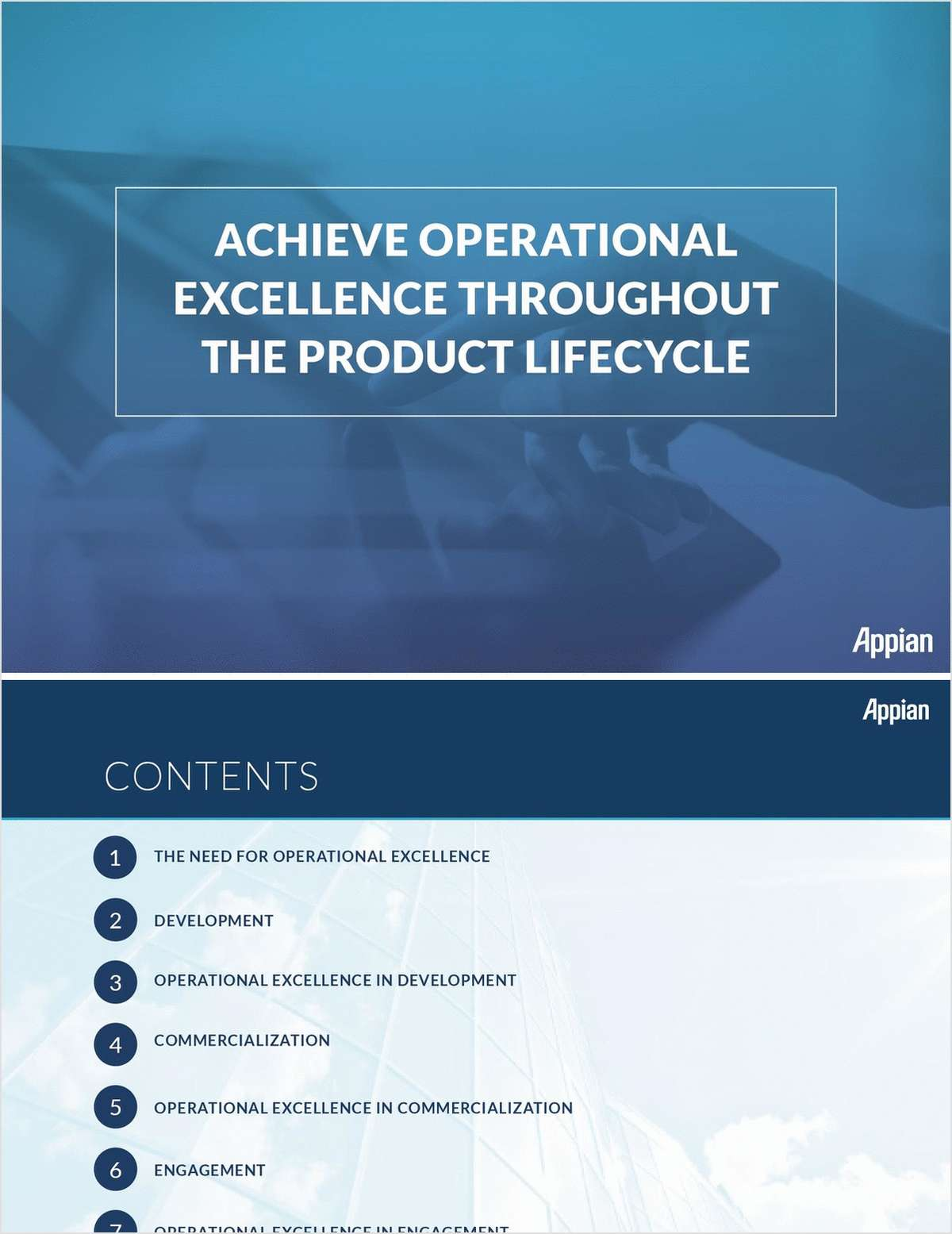 Achieve Operational Excellence Throughout the Product Lifecycle