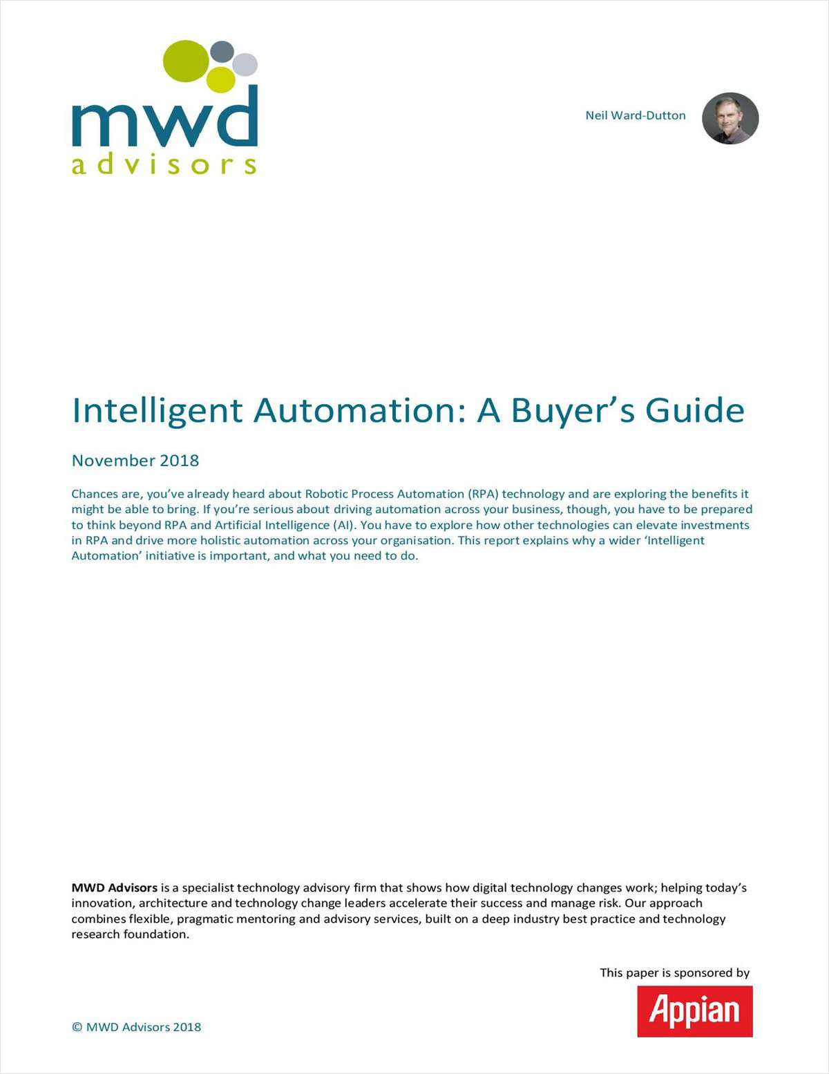 Intelligent Automation: A Buyer's Guide