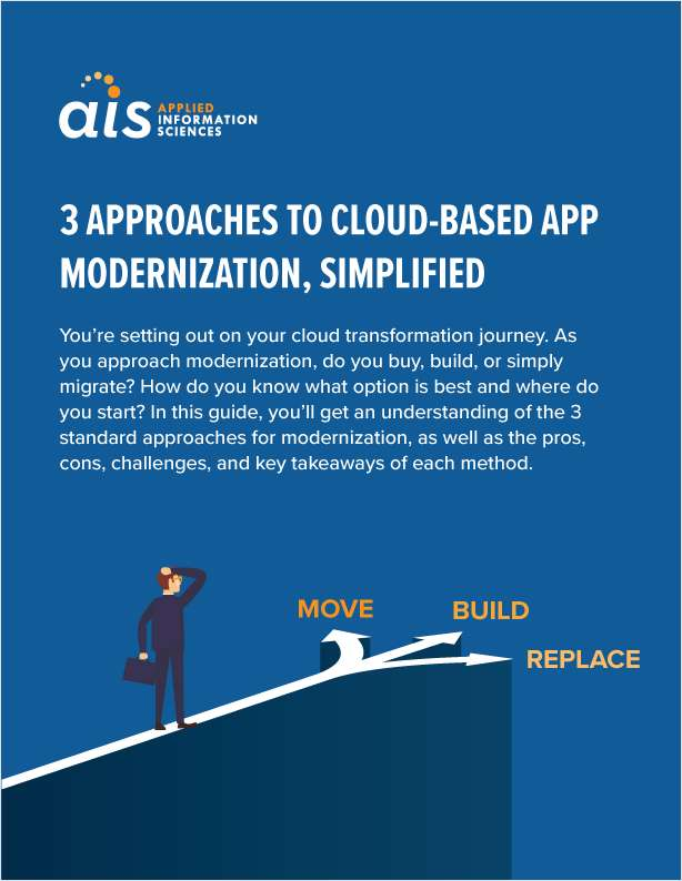 Top 3 Approaches to Cloud-Based App Modernization, Simplified