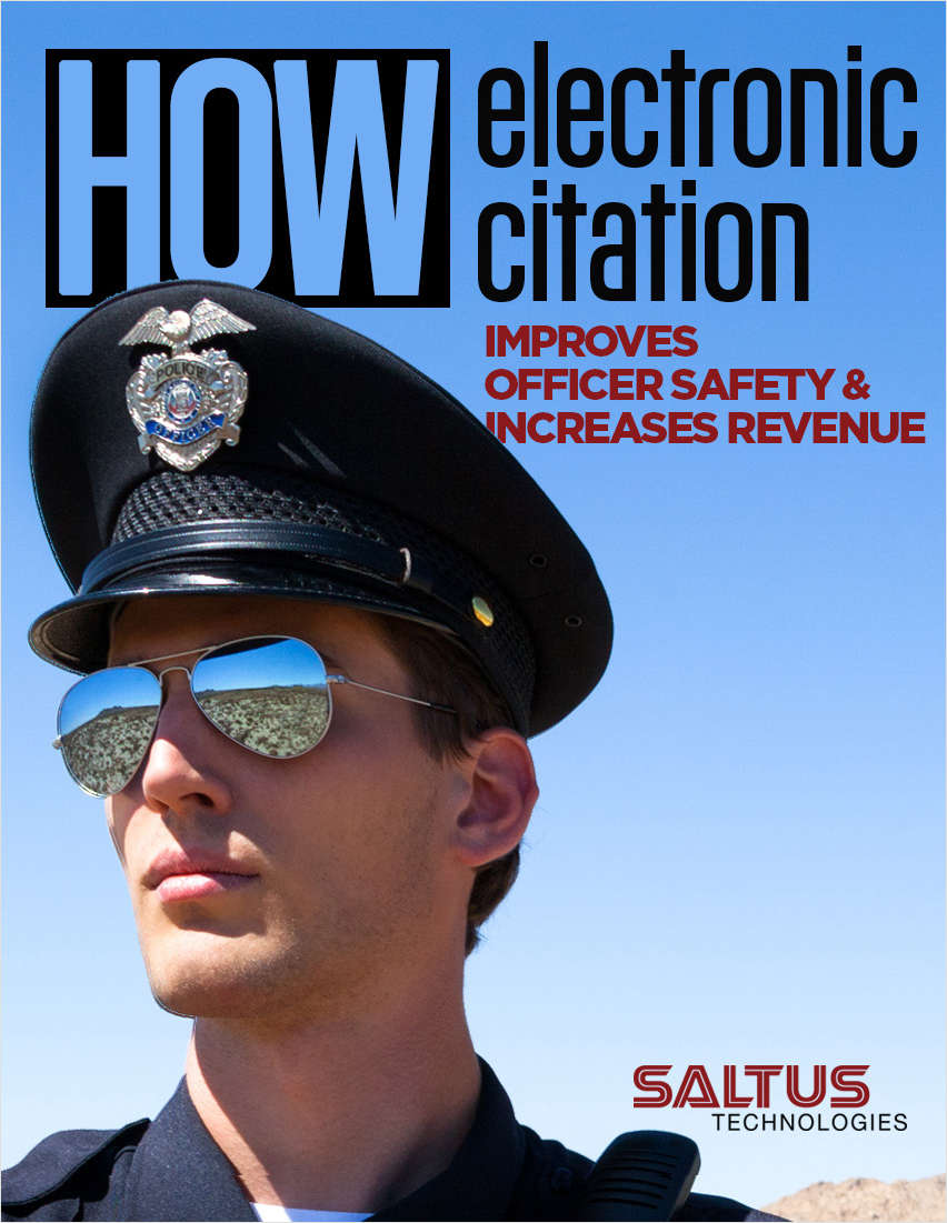 How Electronic Citation Improves Officer Safety & Increases Revenue
