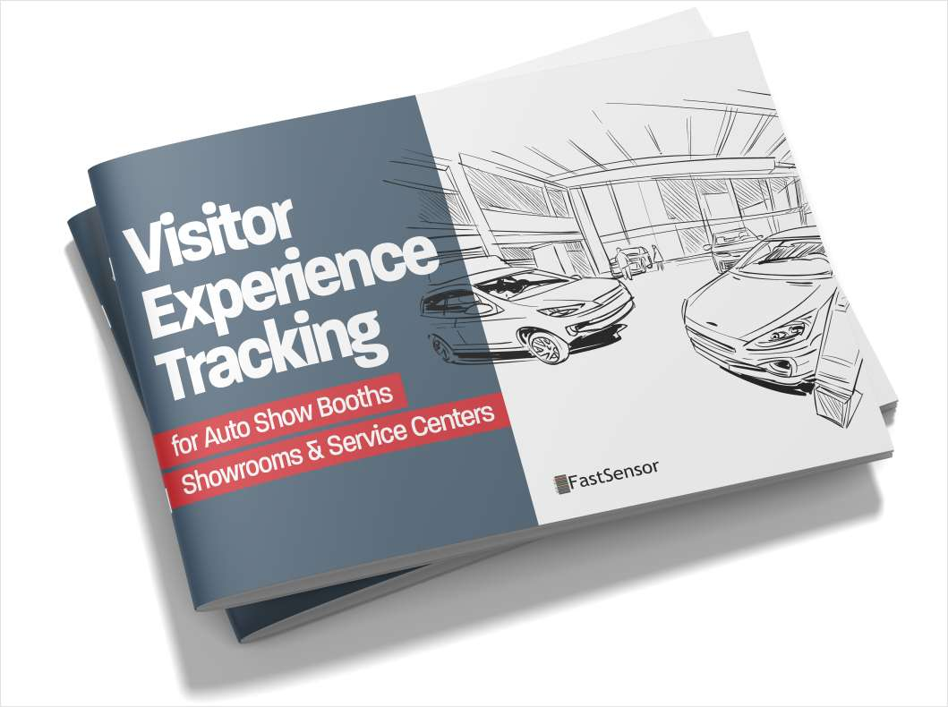 Visitor Experience Tracking for Auto Trade Shows, Showrooms & Service Centers