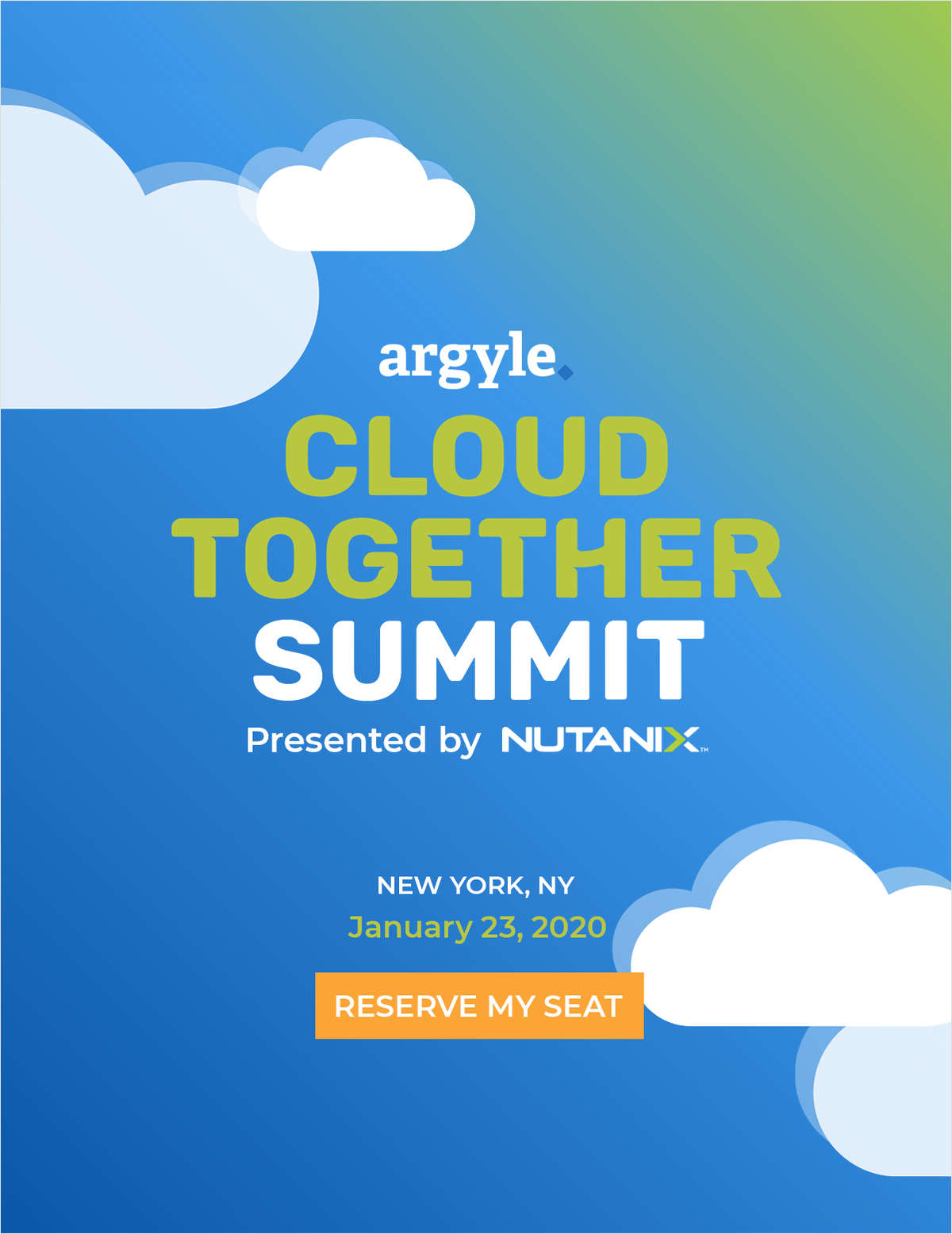 Argyle's Cloud Together Summit | NYC