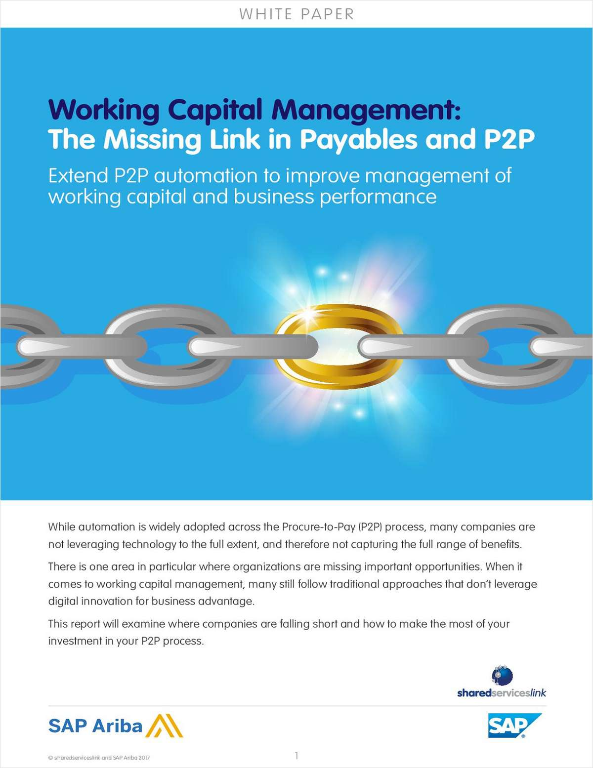 Working Capital Management: The Missing Link in Payables and P2P