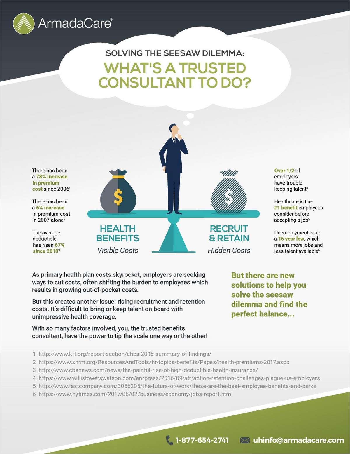 Solving the Healthcare Cost Seesaw Dilemma: What's a Trusted Consultant to Do?