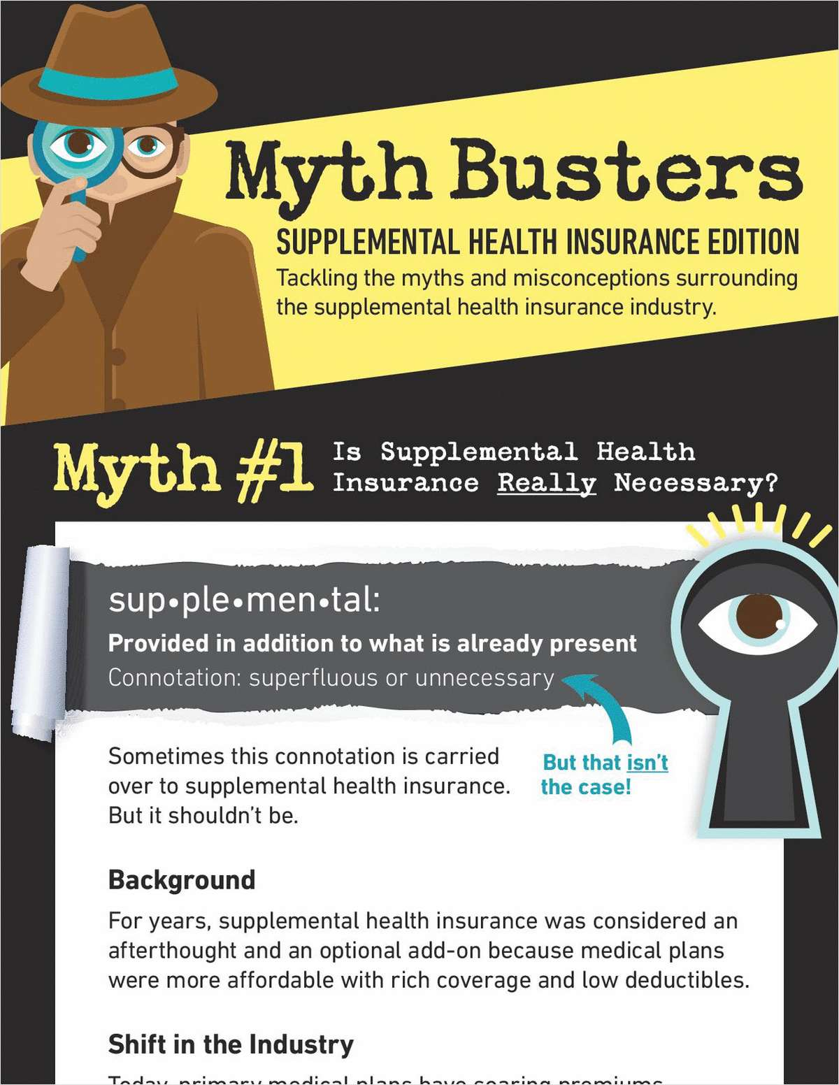 Myth Busters: Supplemental Health Insurance Edition