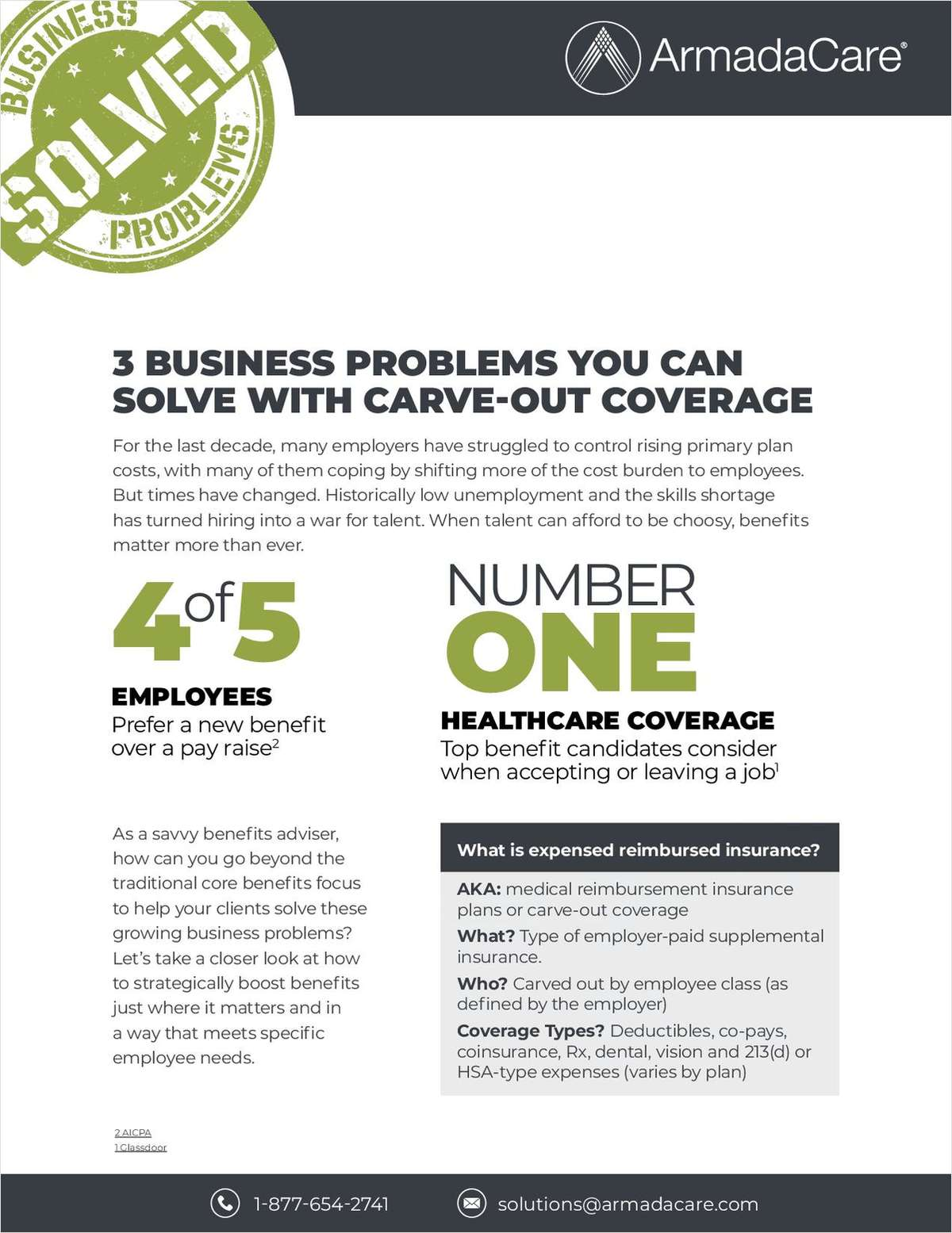 3 Business Problems You Can Solve With Carve-Out Coverage