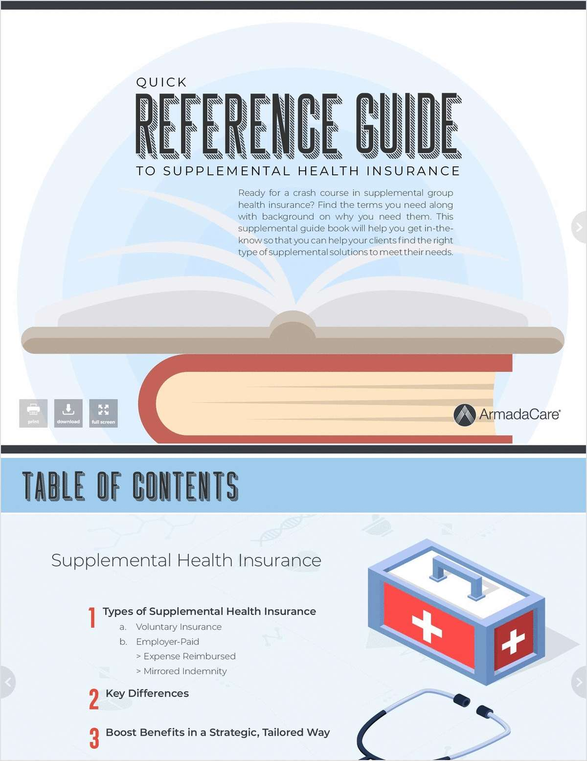 Quick Reference Guide to Supplemental Health Insurance
