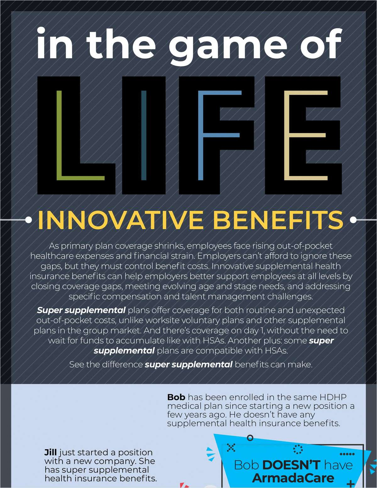 In the Game of Life: Innovative Benefits