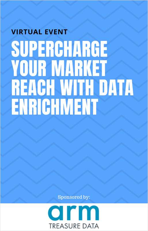 2019 CMO Virtual Event: Supercharge Your Market Reach With Data Enrichment