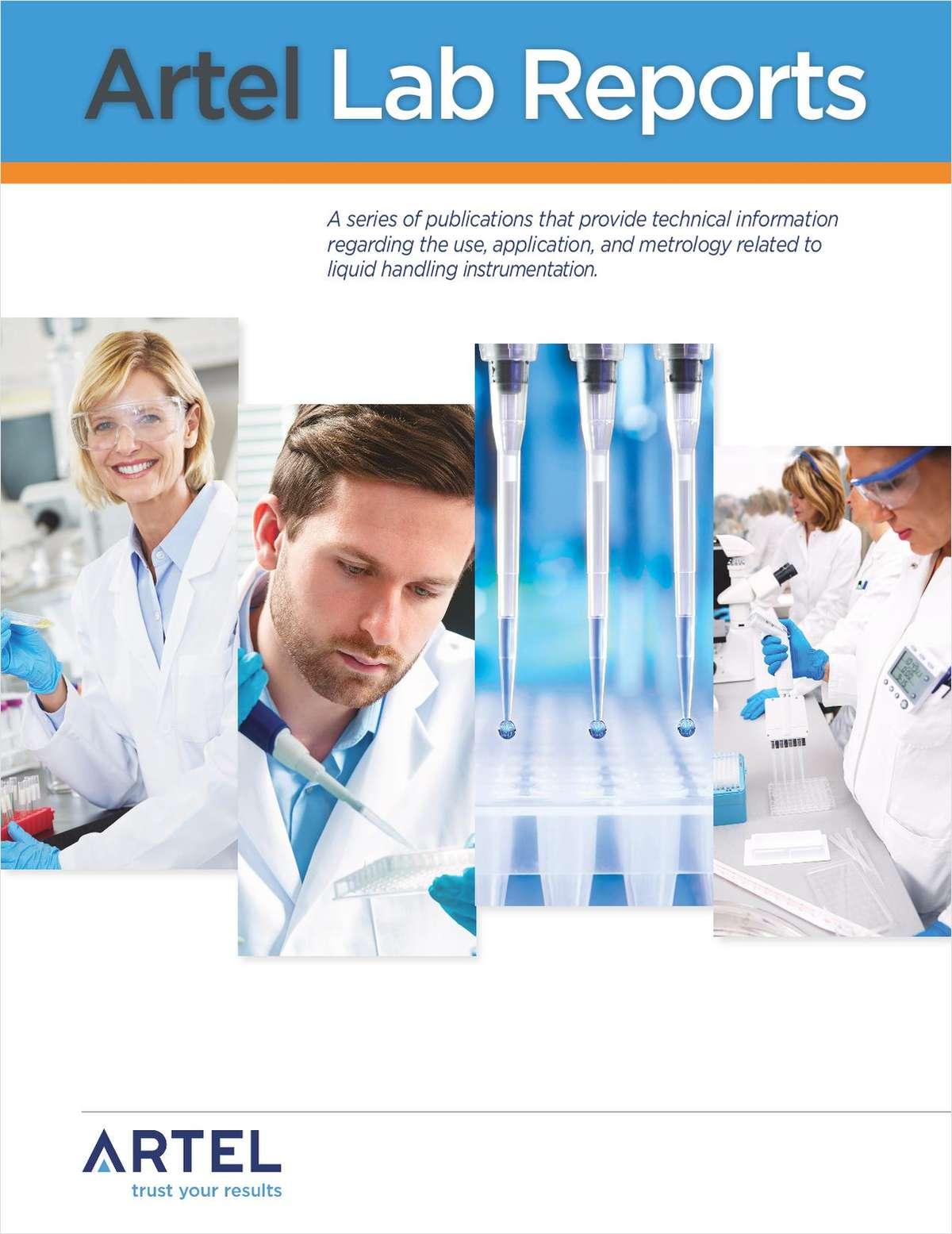Artel Lab Reports