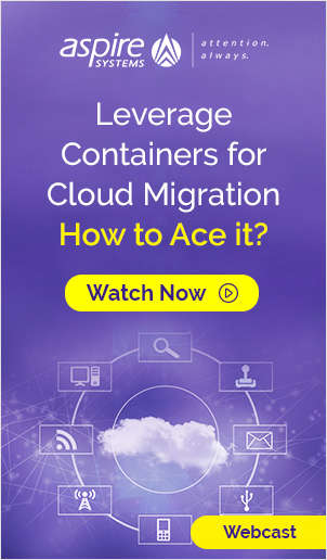 Leverage Containers for Cloud Migration