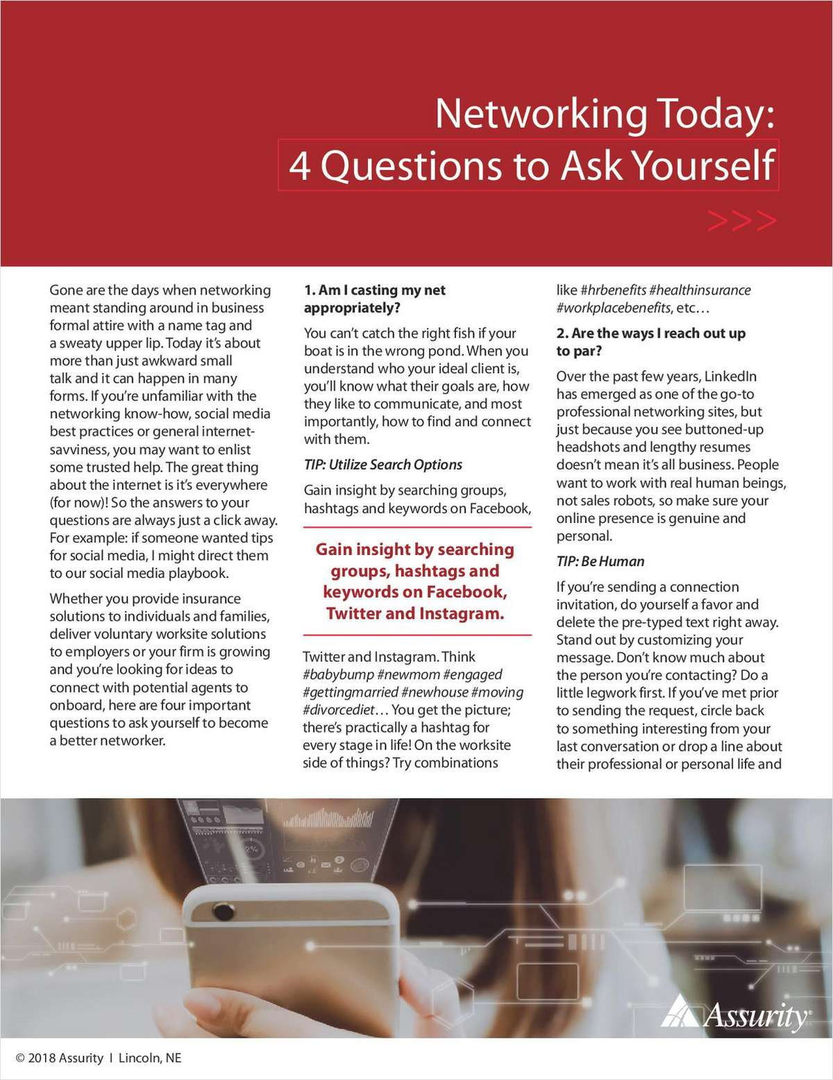 Networking: 4 Questions to Ask Yourself