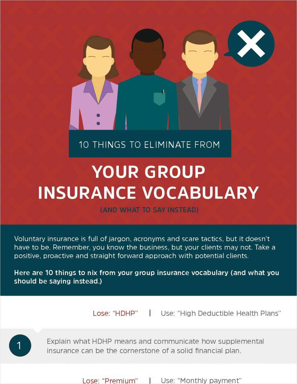 10 Things to Eliminate from Your Group Insurance Vocabulary (and What to Say Instead)