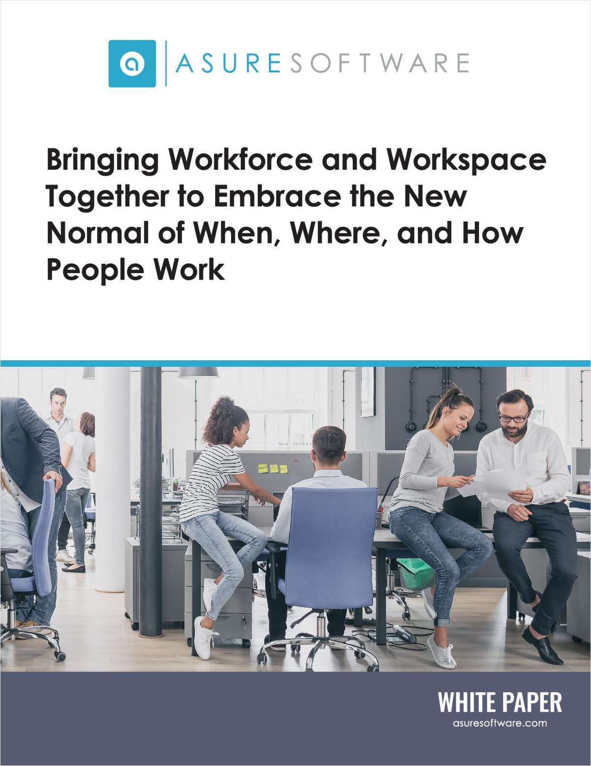 Bringing Workforce and Workspace Together to Embrace the New Normal of When, Where, and How People Work - UK