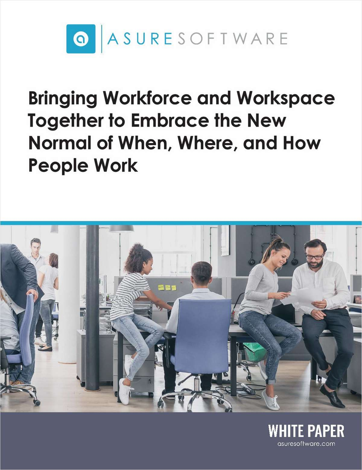 Workspace Optimisation - The New Normal of When, Where, and How People Work