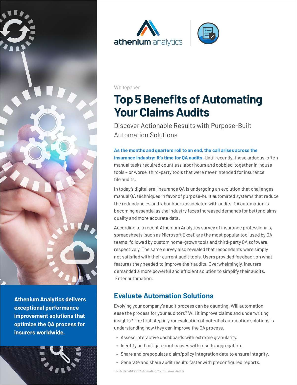 Top 5 Benefits of Automating Your Claims Audits