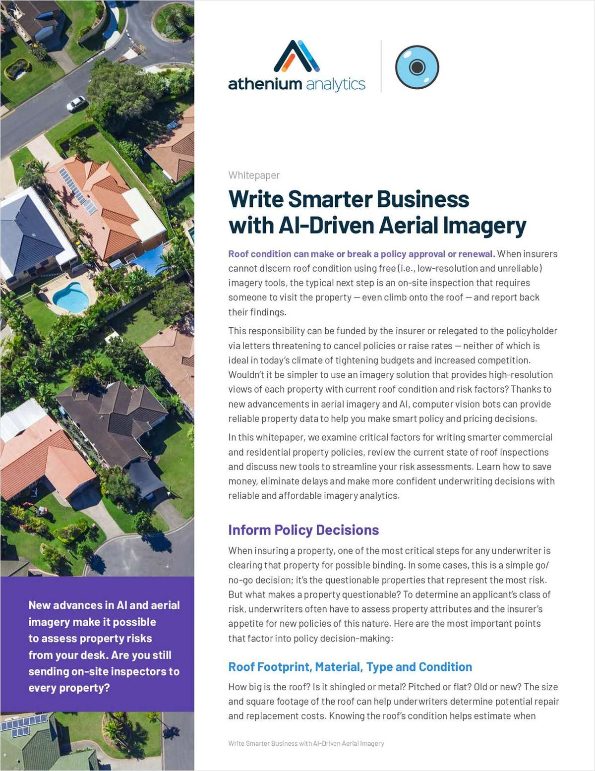 Write Smarter Business with AI-Driven Aerial Imagery
