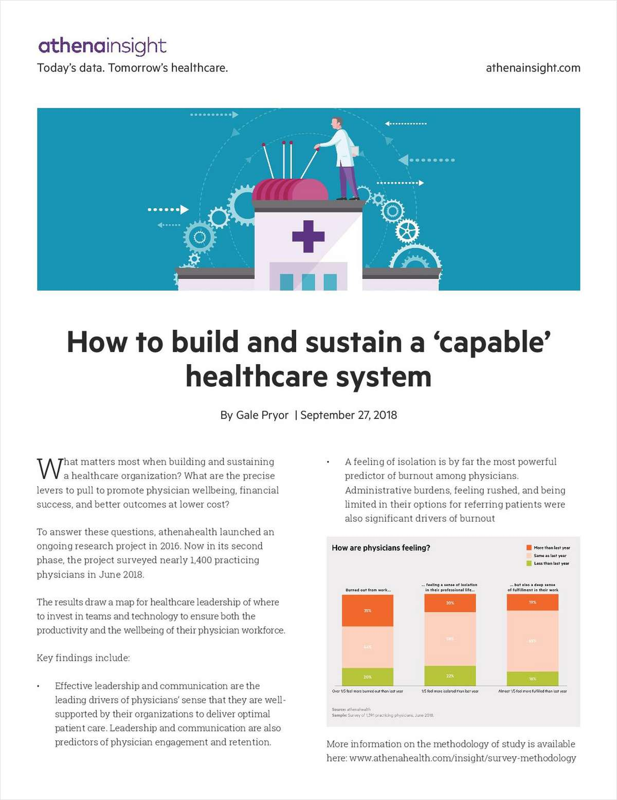How to Build & Sustain a 'Capable' Healthcare System