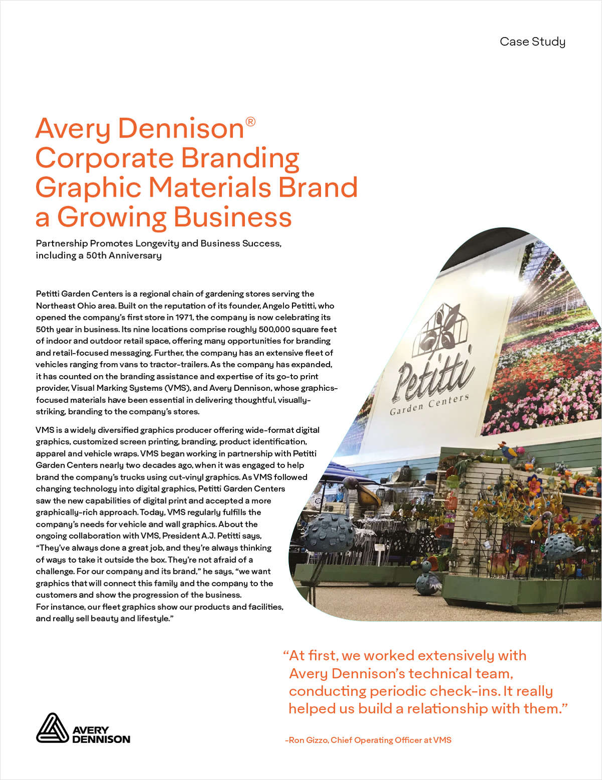 How Graphic Materials Helped to Brand a Growing Garden Business