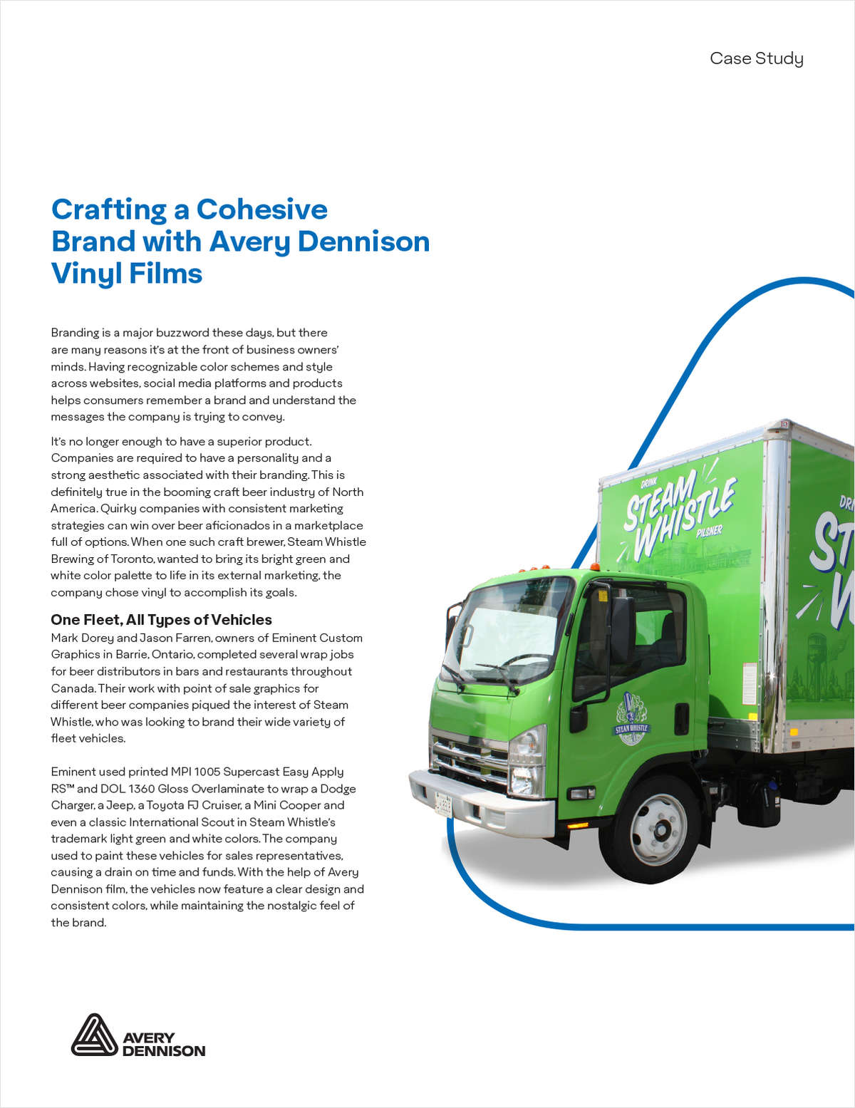 Crafting a Cohesive Brand with Fleet Wrap Films