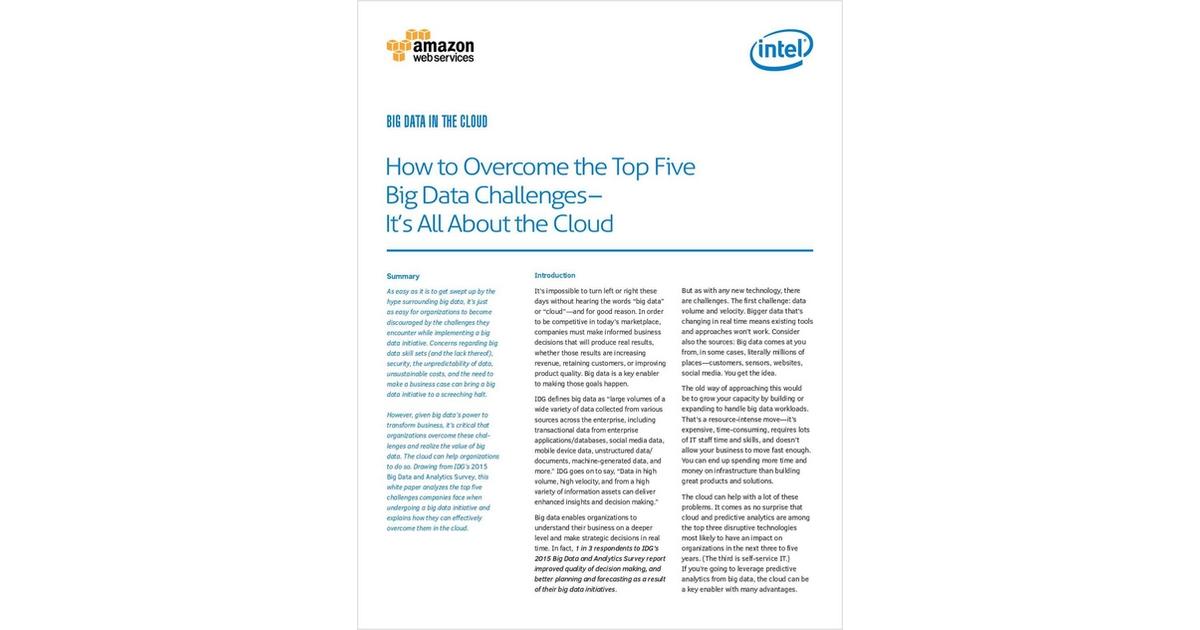 0799585cca0 Big Data in the Cloud