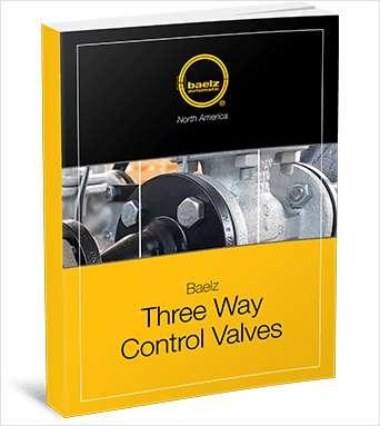 Three Way Control Valves