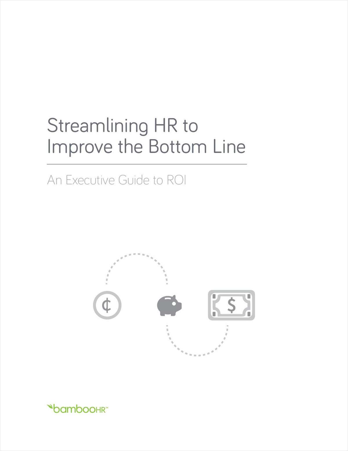 Streamlining HR to Improve the Bottom Line