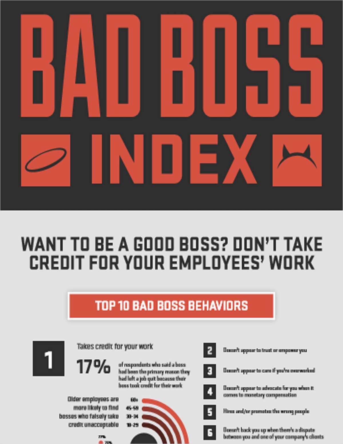 Bad Boss Index