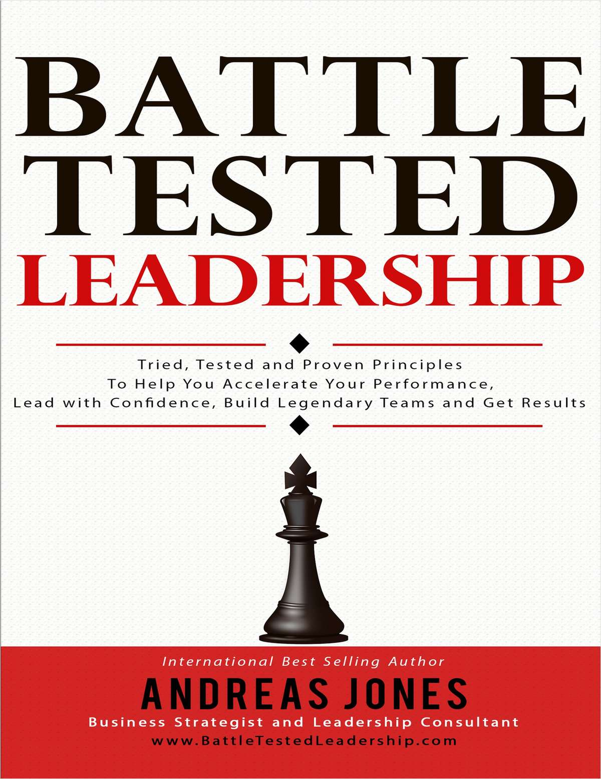 'Battle Tested Leadership ($14.95 Value) FREE For a Limited Time'